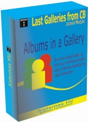Joomla Modulo:  Last Galleries